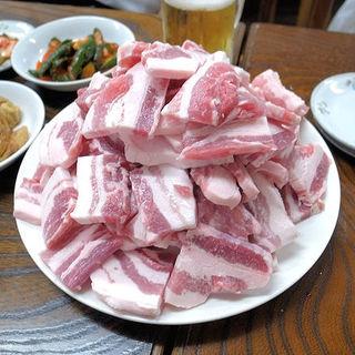 サムギョプサル(韓国家庭料理 漢陽)