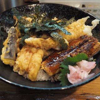 海老あなご鰻丼(一味禅 )