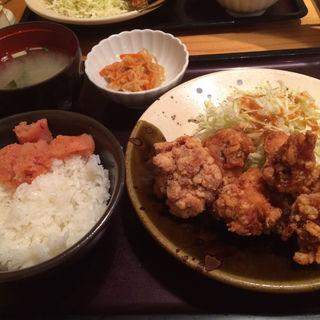 唐揚げ定食(やまや 名古屋栄店 )