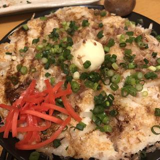 とろとろ長芋のお好み焼き(九 (いちじく))