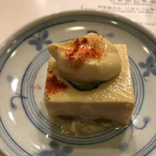 アスパラ豆腐(しゃぶせん 銀座コア地下2階店 )