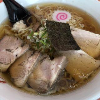 ワンタンチャーシュー麺(わだラーメン (【旧店名】支那そば わだ))
