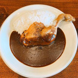 有田鶏モモカレー(カレーショップ マルル)