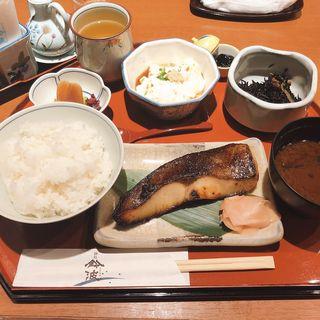 銀だら定食(鈴波 栄南店 )