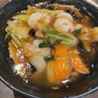 本日の麺(花壇 (カダン))