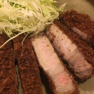 特ロースかつ定食(丸和)