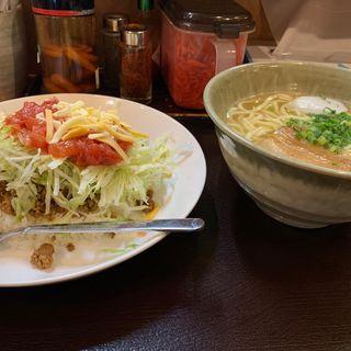 タコライスセット(沖縄そば やんばる (おきなわそば・やんばる))