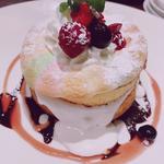 マシュマロチョコベリーパンケーキ