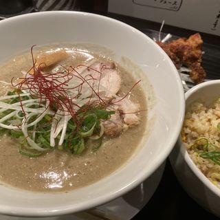 鶏とろラーメン(麺屋28)