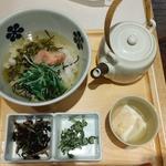 炙り明太子と高菜(だし茶漬け えん  )