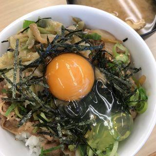 ガリたま牛めし(松屋 大津通錦店 )