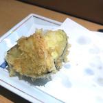 天ぷら(赤茄子)