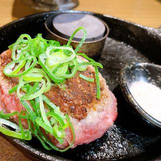 極味やハンバーグステーキレギュラーコンビ(ハンバーグステーキ極味や なんば店)