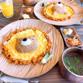 くまライス(henteco〜森の洋菓子店)