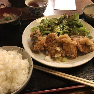 さば竜田揚げおろしポン酢定食(うまし )