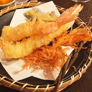 天麩羅 4種盛り合わせ(日本酒と湯豆腐 いろは)