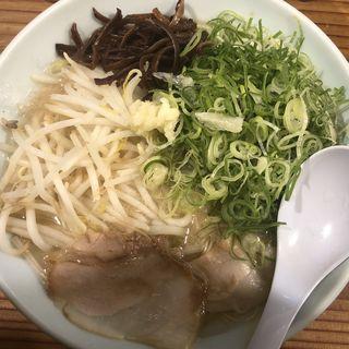 ネギラーメン(博多濃麻呂 (はかたこくまろ))