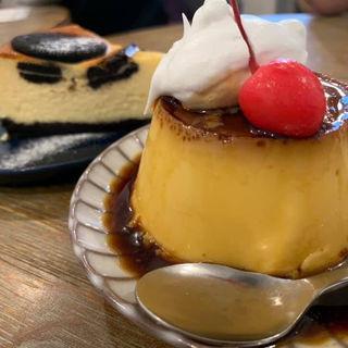 クラシックプリン オレオチーズケーキ(オールシーズンズ コーヒー (4/4 SEASONS COFFEE))