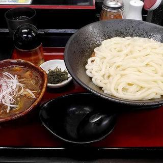 あさりと新ごぼうの麻婆ナスつけ麺(極楽うどん TKU (ティーケーユー))