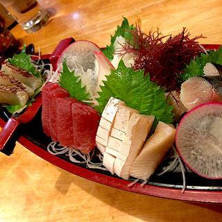 近海活〆刺身舟盛り(魚がし 長町店 )