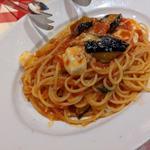 揚げ茄子モッツァレラチーズのトマトソース
