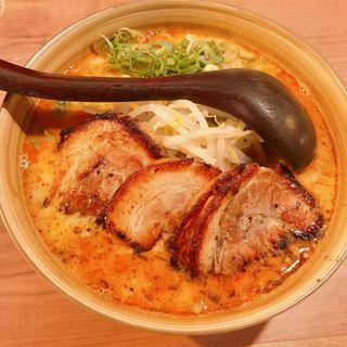 ピリ辛味噌ラーメン(らーめん千の風 四条河原町店 )