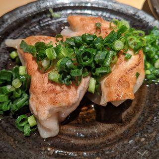 醤油ダレ餃子(焼鳥チキウ)