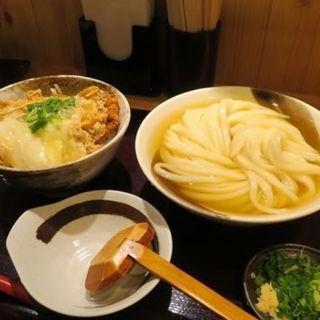 カツ丼セット(麺大盛)(純愛うどん なでしこ 原点 )