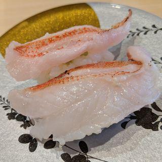きんき炙り(廻転とやま鮨 銀座)