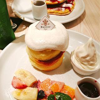 スフレパンケーキ(パンケーキ専門店 Butter 横浜ベイクォーター)