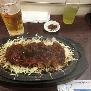 鉄板みそかつ(矢場とん 名古屋駅エスカ店 (やばとん))