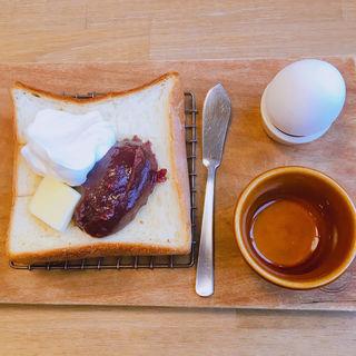 小倉トースト(つばめパン&Milk)