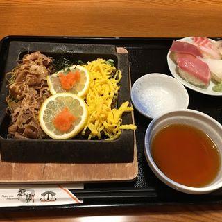 瓦そば(魚鮮水産 アイスタ新山口店 (ウオセンスイサン))