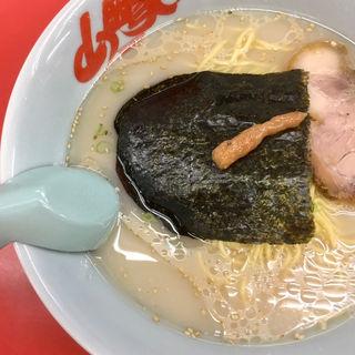 朝ラーメン(ラーメン山岡家 新すすきの店)