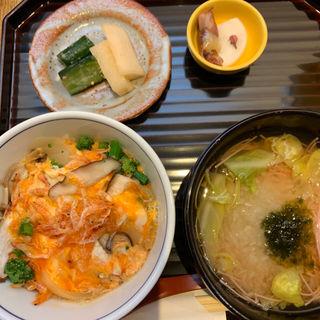 桜海老丼もの 煮麺セット(はしたて)