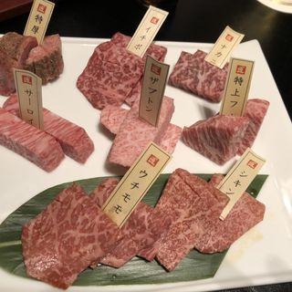 任せコース(肉の切り方 日本橋本店)