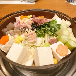 アンコウ鍋(山翠 (さんすい))