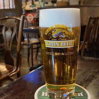 キリン 一番搾り(ブルドッグ 銀座 クラフトビール World Beer Pub&Foods)