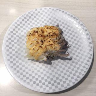 いかげそ明太マヨ炙り(魚べい 名古屋守山店)