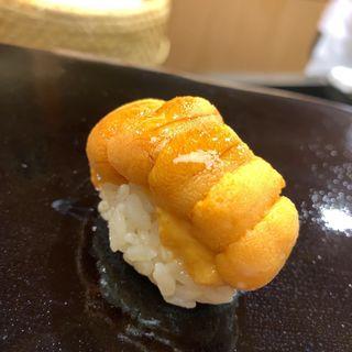 うにの握り(日本橋蛎殻町すぎた)