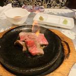 炎の松坂牛ステーキ