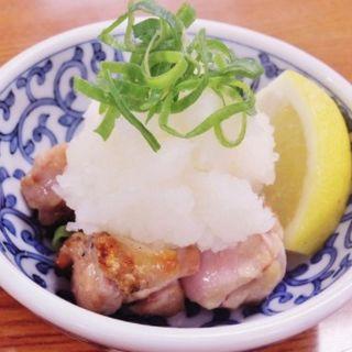 鶏肉のみぞれ和え(串屋横丁 浅草橋2号店)