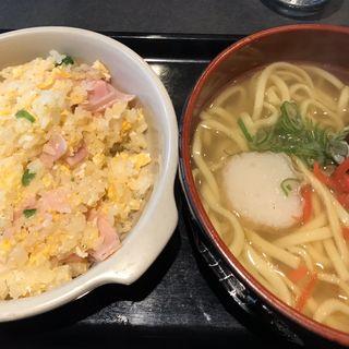 日替りランチ 沖縄そば&ピラフ(喫茶レストラン縄 (繩 なわ))