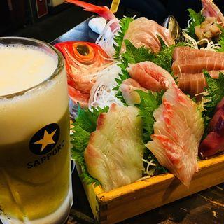 三浦半島地魚どっさり盛り(まるう商店)
