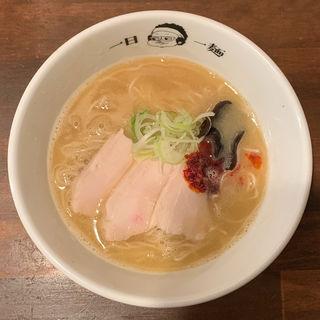 鶏そばゴールドブレンド(麺道はなもこし)