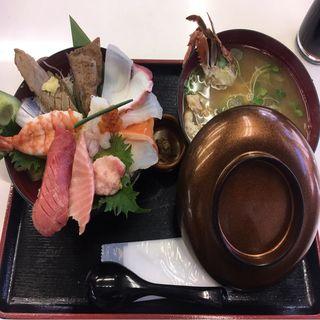 上 海鮮ちらし(野口鮮魚店 (ノグチセンギョテン))