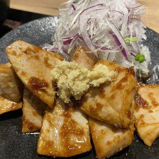 マグロしょうが焼き定食(しょうが焼き Baka)