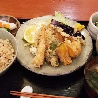 天ぷら定食(美松 )