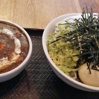 黒カレー肉そば中(壬生 )