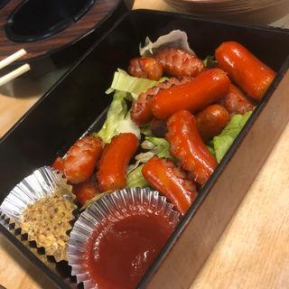 ウインナー炒め(パブ 山形)